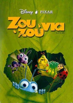 ΖΟΥΖΟΥΝΙΑ - A BUG'S LIFE N.M.S. (ΤΑΙΝΙΑ ΚΙΝΟΥΜΕΝΩΝ ΣΧΕΔΙΩΝ ΜΕΤΑΓΛΩΤΤΙΣΜΕΝΗ ΣΤΑ ΕΛΛΗΝΙΚΑ) (NET)