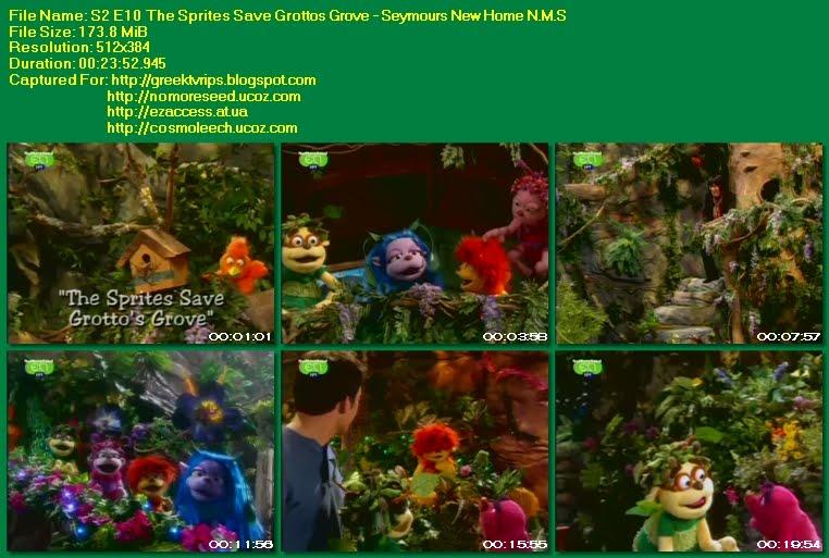Ο ΤΖΟΝΙ ΚΑΙ ΤΑ ΞΩΤΙΚΑ - JOHNNY AND THE SPRITES - S02E10 - The Sprites Save Grottos Grove - Seymours New Home N.M.S. (ΕΤ1)