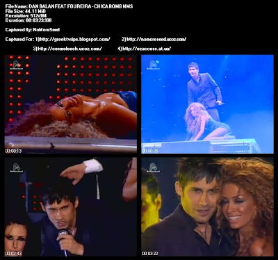 MAD VIDEO MUSIC AWARDS 2010 DAN BALAN FEAT. ΦΟΥΡΕΪΡΑ - CHICA BOMB  N.M.S. (ALPHA)