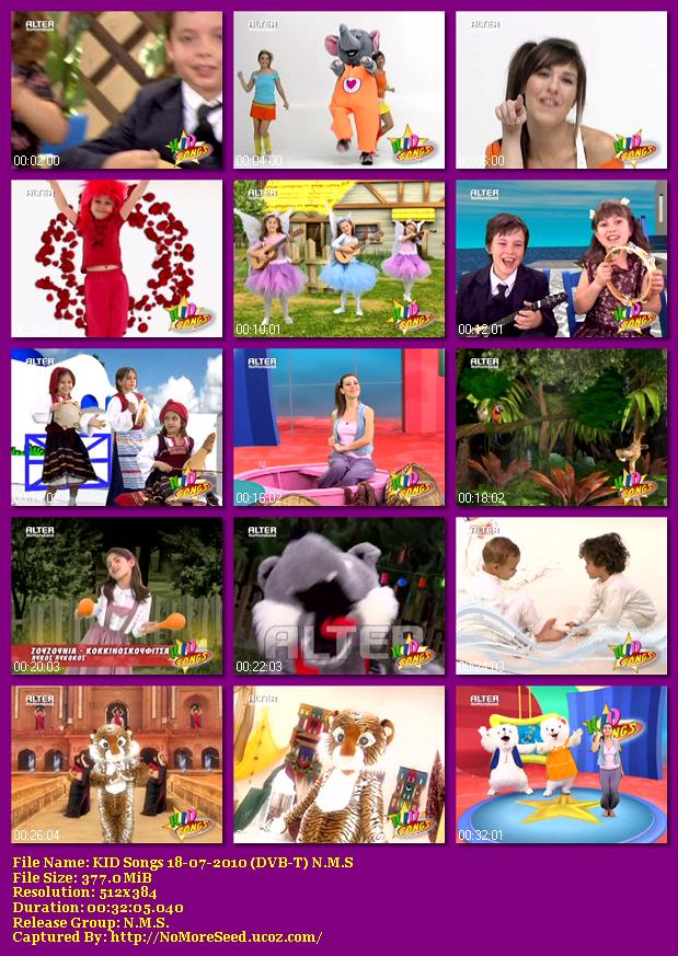 KID Songs 18-07-2010 (DVB-T) N.M.S  (ALTER)