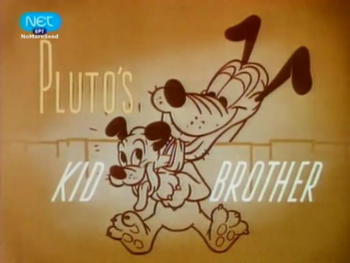Disney shorts - pluto's kid brother (1946