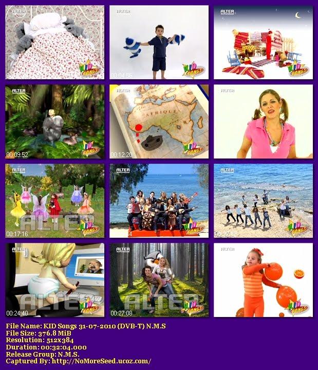 KID Songs 31-07-2010 (DVB-T) N.M.S (ALTER)