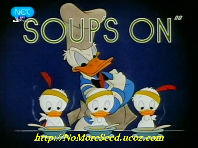 """Disney Shorts - """"Soup's On"""" (1948) {Μεταγλωττισμένο στα Ελληνικά} N.M.S (NET)"""