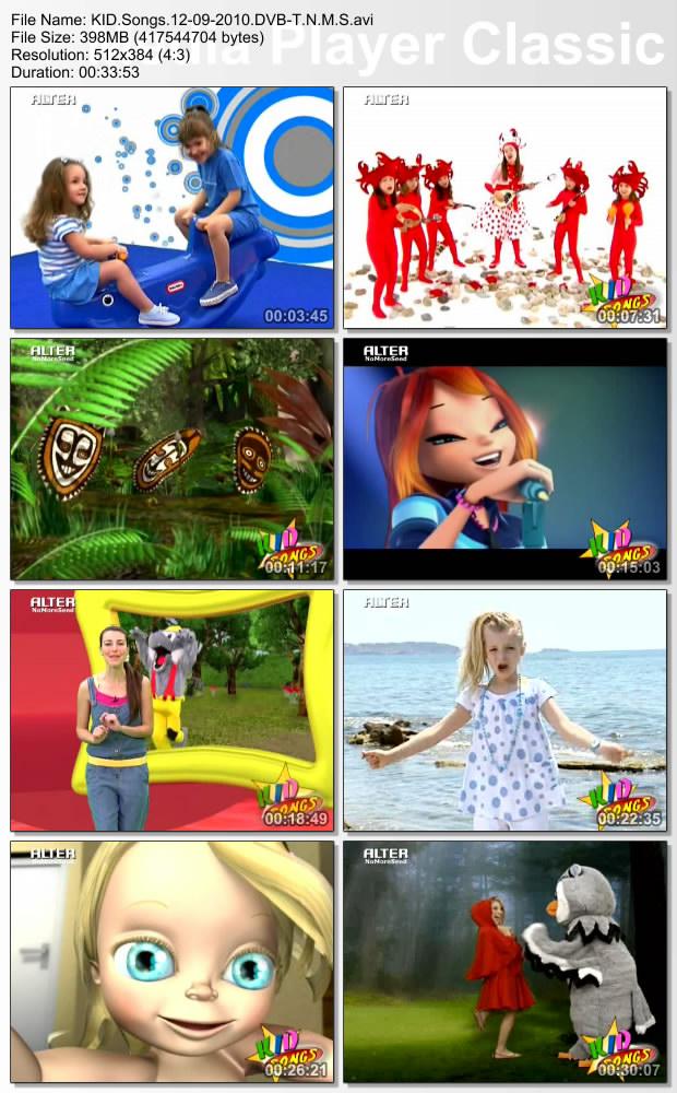 KID Songs 12-09-2010 (DVB-T) N.M.S (ALTER)