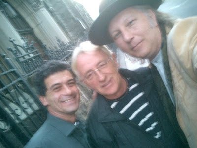 Alan bjelinski oliver dragojevic and nenad bach in new york city the