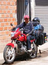 Antonio En La Moto