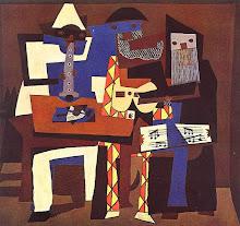 Picasso 1921 Musicians