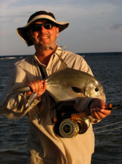 Photo of guest holding a permit