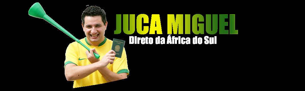 Juca Miguel, direto da África