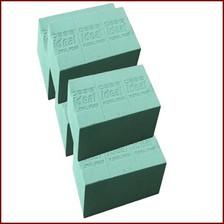 Mousse mouillable OASIS® pour fleurs fraîches - Cube - pour décoration florale
