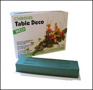 Mariage Décoration florale Deco Table Modèle Moyen MEDI base plastique avec IDEAL