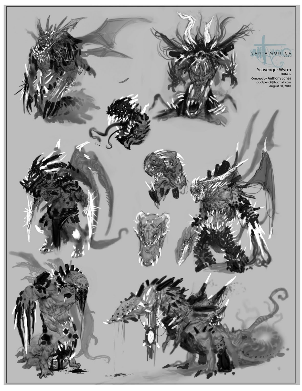 Anthony Jones Creature Design- Red Engine Studios (Big DL)