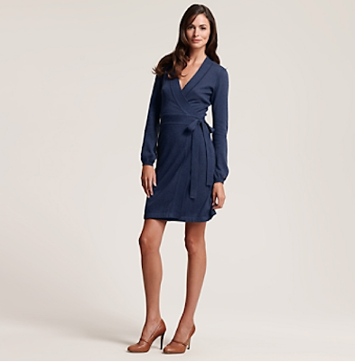I love this wrap dress from Tommy Hilfiger! This is definitely my style, ...