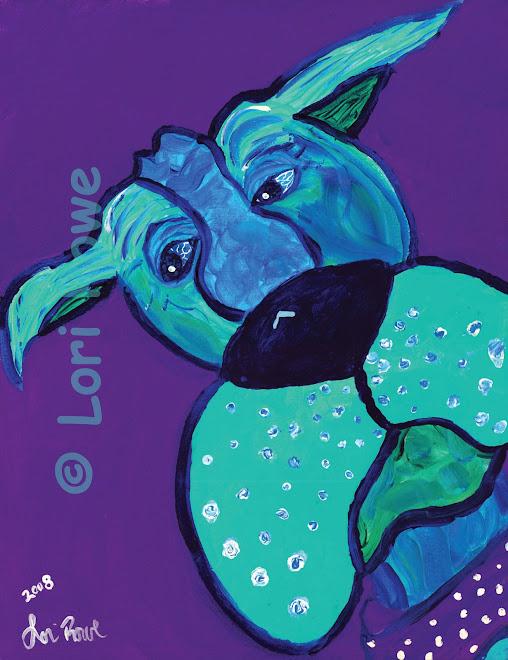 Bleu Lagon -Original  or Giclee'