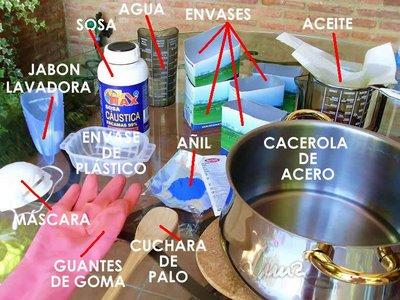 Luis com se hace el jab n - Como se hace el jabon de glicerina ...