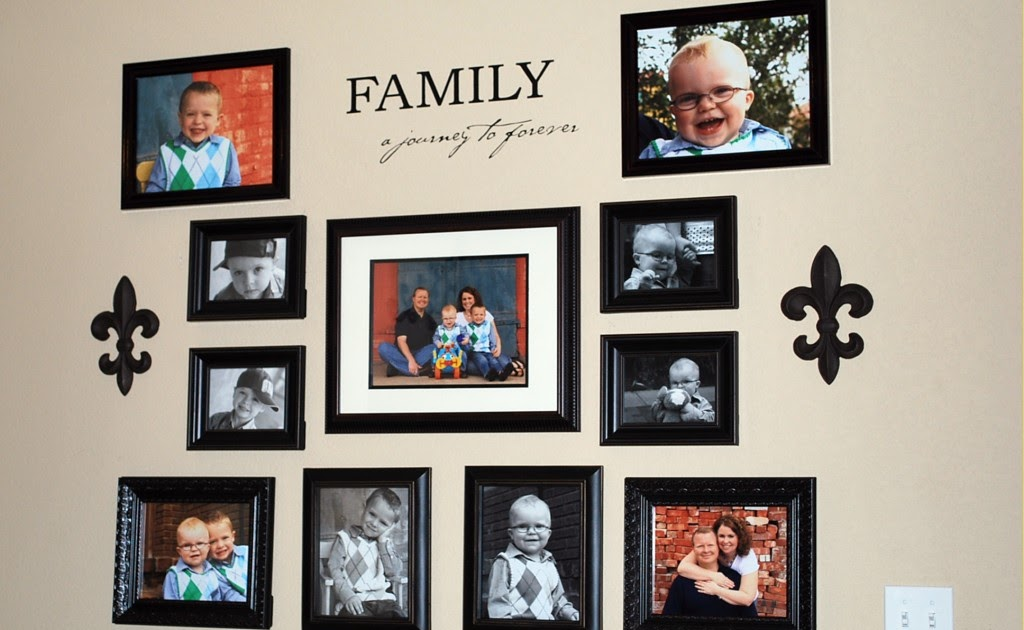 Reflections by amanda smith wall art wednesday Family pictures on living room wall