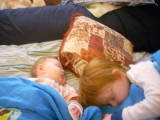 Sleeping babes...