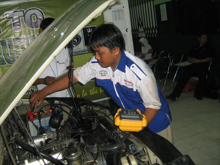 Uji Kompetensi Tune Up EFI ( Injection )