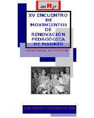 XV ENCUENTRO MRPs MADRID