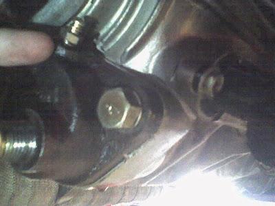 AWD pump Bleeder Screw