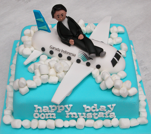 The Cake Shop Garuda Indonesia Airlines Cake