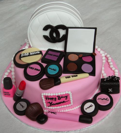 Makeup Cake Images : The Cake Shop: Make Up Cake