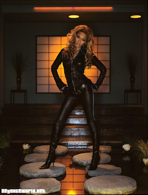 Leather Beyonce Knowles