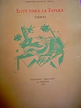 Suite para la espera, primer poemario del autor, publicado en el 1948