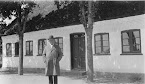 Carl Nielsen visits the house where he lived as child