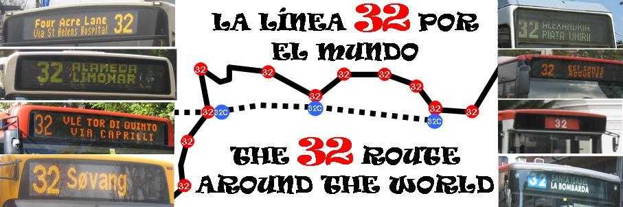 LÍNEAS 32 POR EL MUNDO