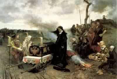 Juana la Loca (Francisco Pradilla, 1877)