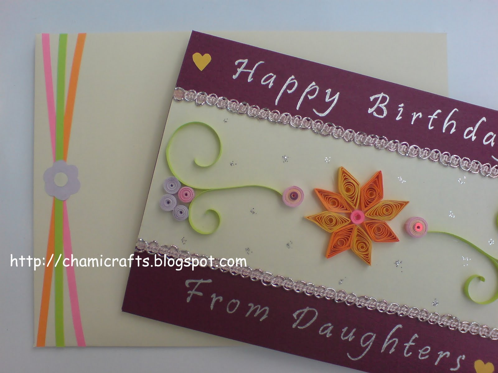 Chami Crafts Handmade Greeting Cards Birthday Card For A Dad