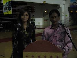 Bersama Shikin RTM mengacara majlis TPM