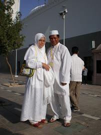 Menunaikan Umrah 2007