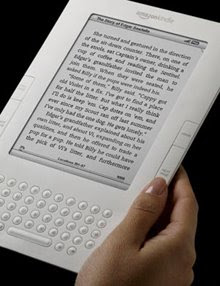 Out of print: The new Kindle is less than a centimeter thick, weighs 300 grams, and turns pages 20 percent faster than its predecessor. The e-ink technology powering its screen is also a newer generation, displaying sixteen shades of gray rather than four. Credit: Amazon