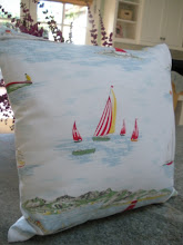 Seaside Pillow for a Cottage by the Sea