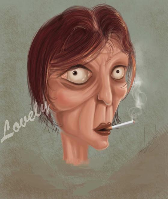 Smoker lady