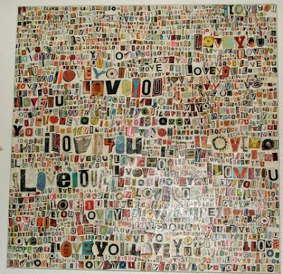 An I Love You ransom note?