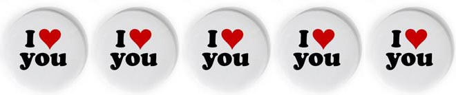 I love you and you and you and you and you...