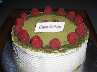 ... to make another cake which happen to be a great success durian cake