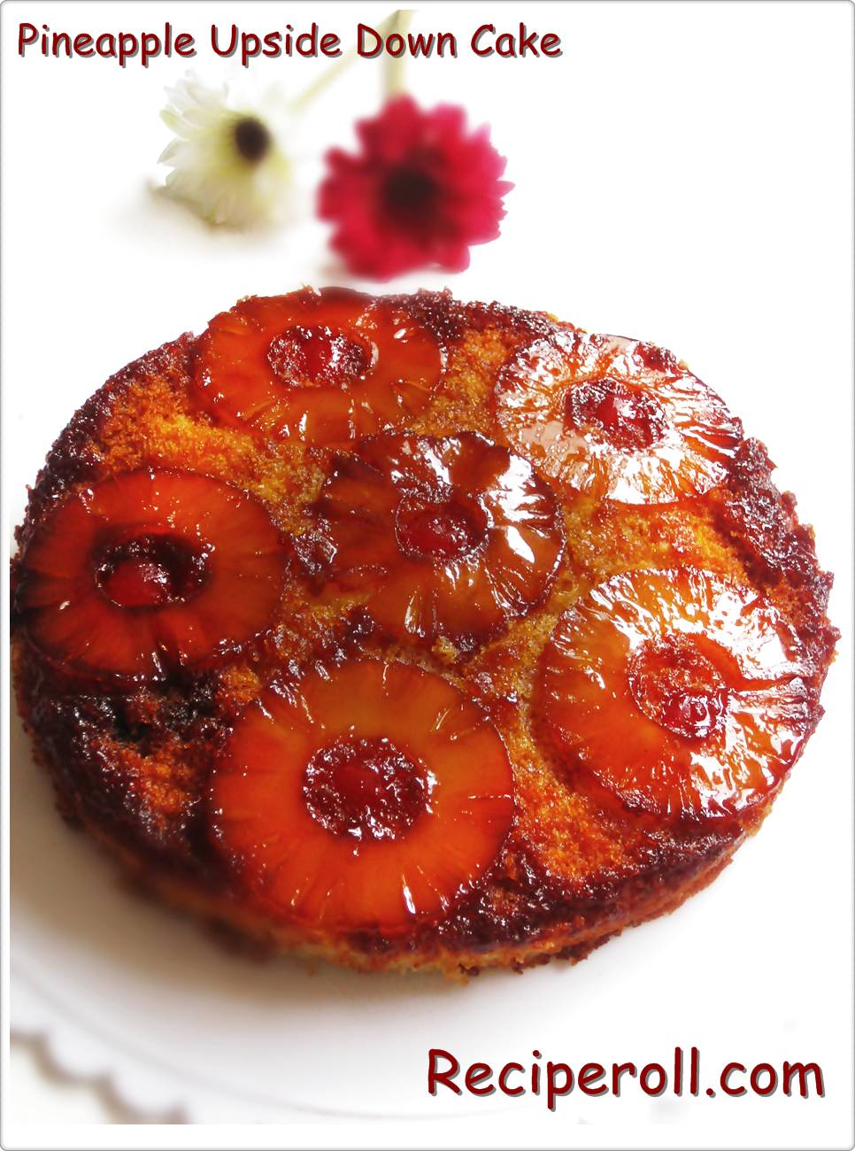 pineapple upside down cake caramelized pineapple upside down cake ...