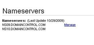 nameservers for blogger hosting