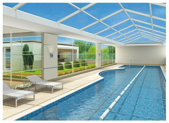 Na ante c mara a abertura da piscina coberta em viana do for Piscinas viana