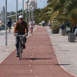 Carril bici - Bahía de Palma