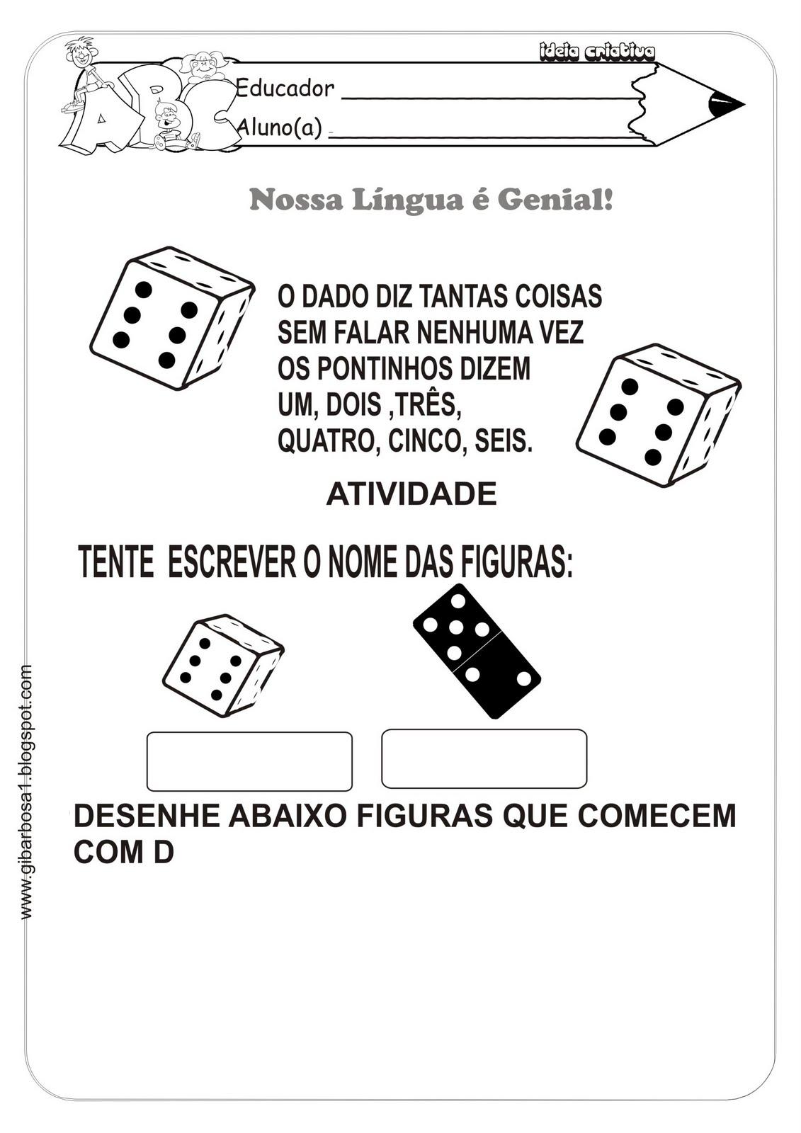Atividade L  Ngua Portuguesa