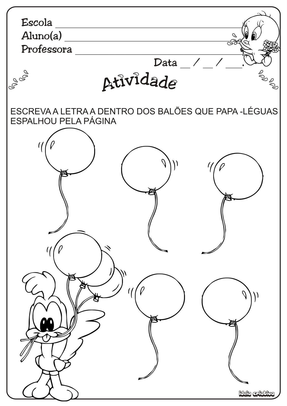 Barbosa Marcadores  Atividades Educa    O Infantil   Atividades Vogais