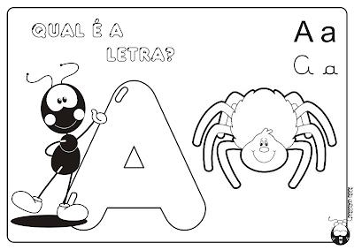 Alfabeto Smiliguido pra Imprimir Letra A