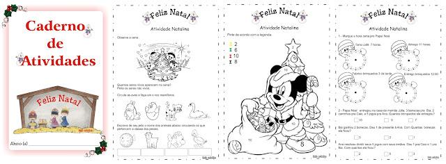 Cadernos de Atividades Natalinas - 5 e 6 anos