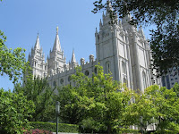 Mormon Temple in Salt Lake