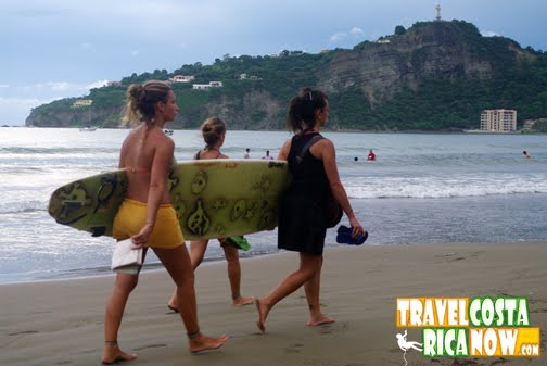 Their are TONS of hostels, hotels, B&B's etc etc in San Juan del Sur and ...